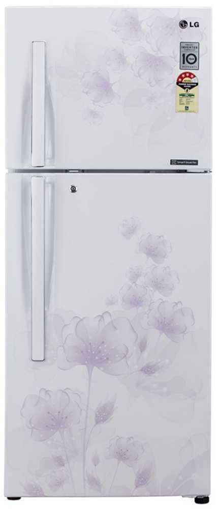 Best price on LG GL-D292JPFL/MFL/SFL/GFL 258 Litres Double Door Refrigerator (Florid)  in India
