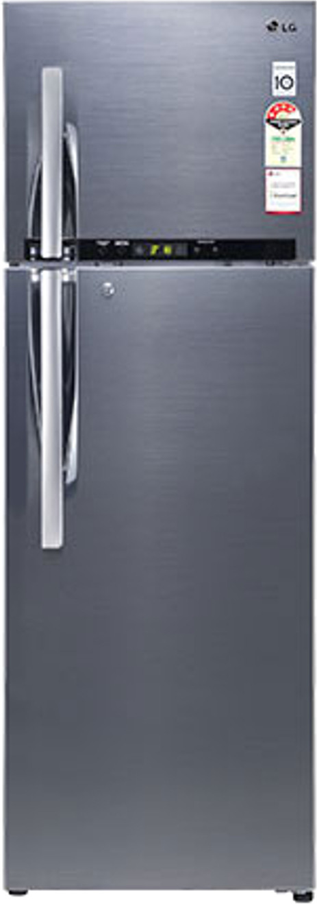 Best price on LG GL-D372RSHM 335 Litres 4S Double Door Refrigerator in India