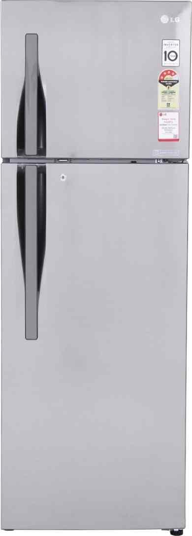 Best price on LG GL-I292RPZL 260 Litre Double Door Refrigerator in India