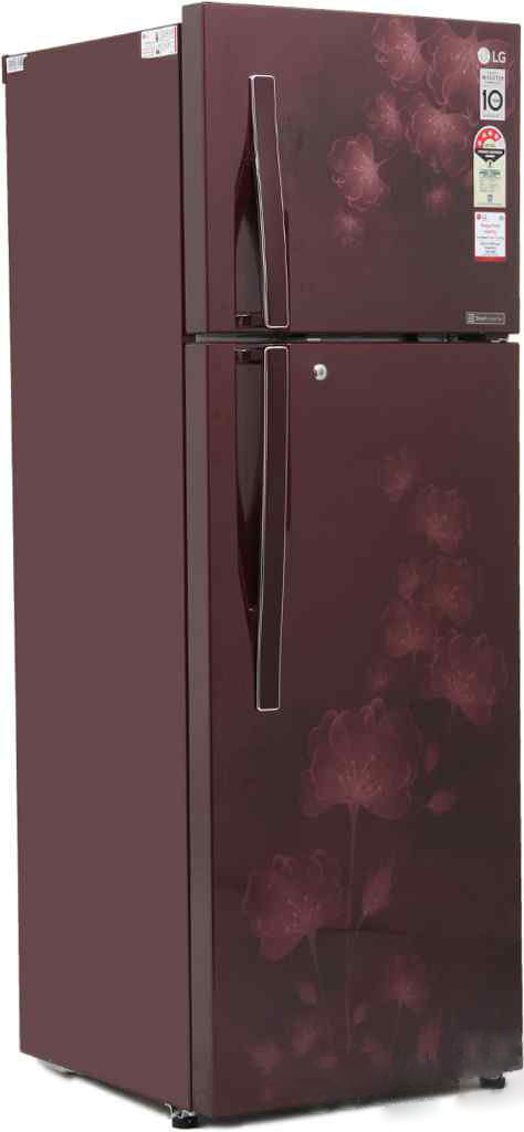 Best price on LG GL-I292RSFL 260 Litre Double Door Refrigerator in India