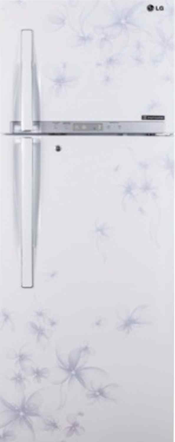 Best price on LG GL-U372HDWL 335L Frost Free Double Door Refrigerator in India