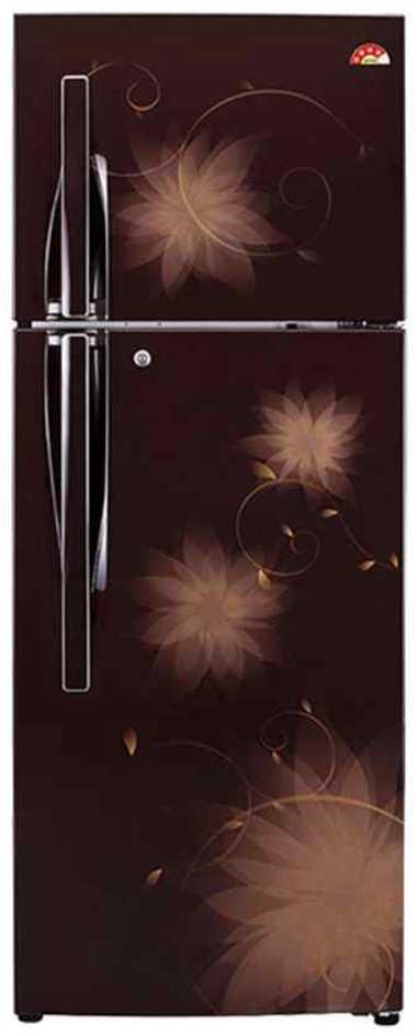 Best price on LG GL-U402JHSL 360 Litre Double-Door Refrigerator  in India