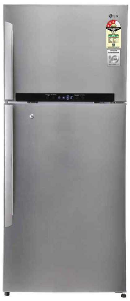 Best price on LG GN-M702GSHH 546 Litres Double Door Refrigerator  in India
