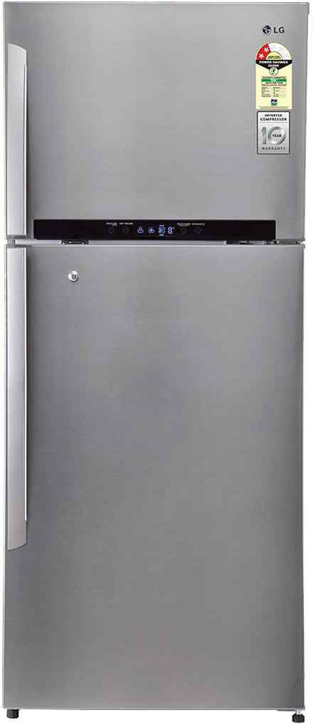 Best price on LG GN-M702HLHM 546 Litres 3S Double Door Refrigerator (Shiny Steel) in India