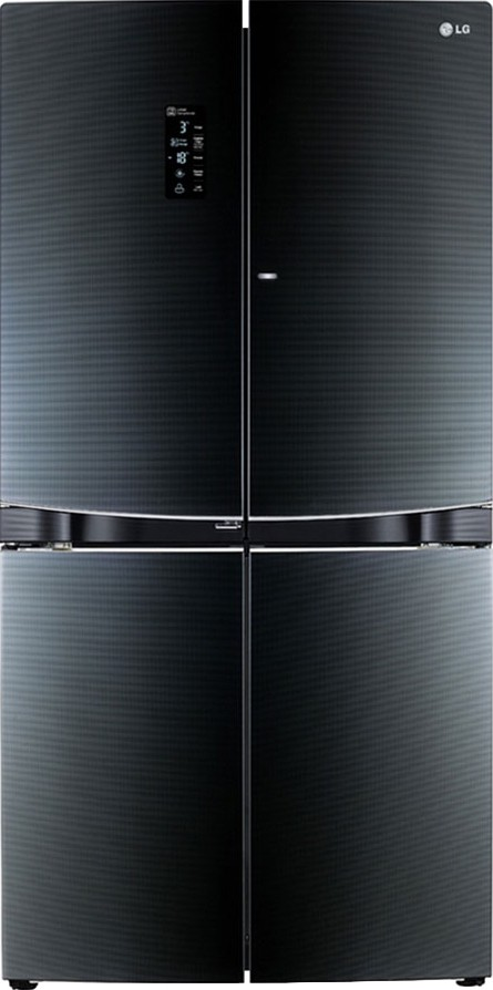 Best price on LG GR-D34FBGHL 1001 Litres Side by Side Door Refrigerator in India