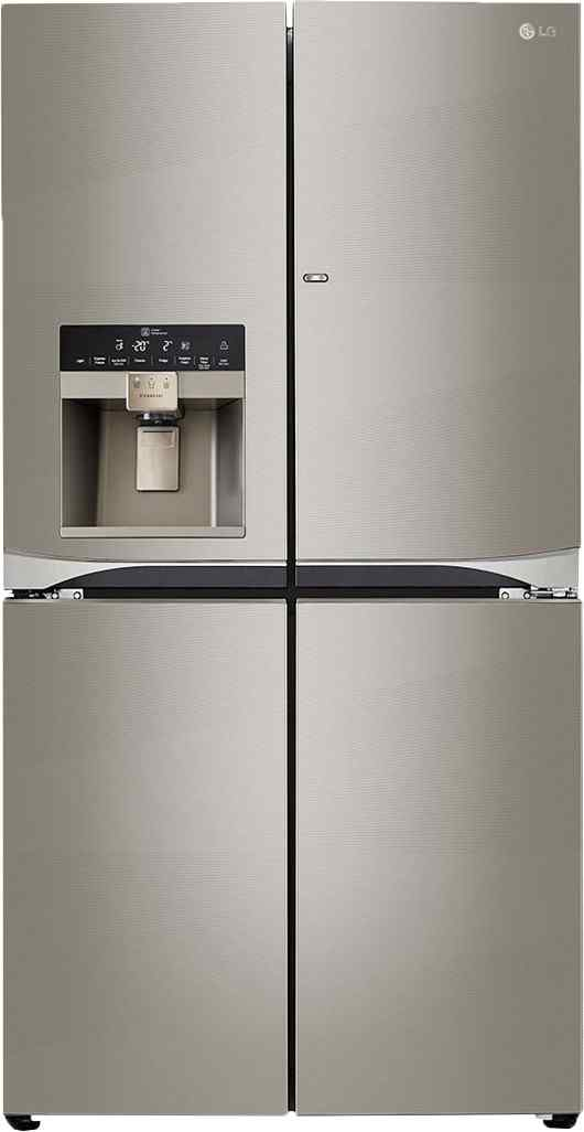 Best price on LG GR-J31FWCHL 889 Litres Side By Side Door Refrigerator in India