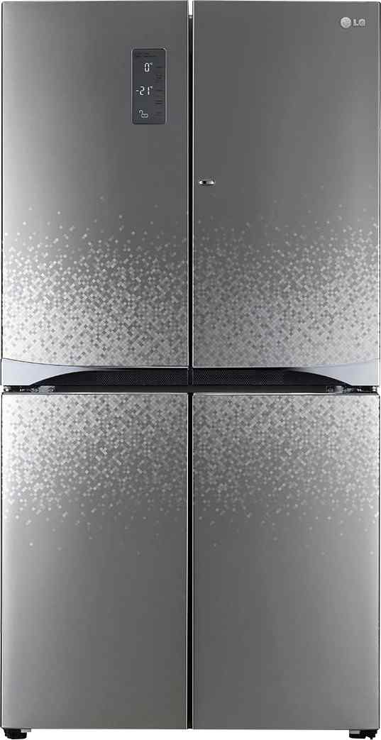 Best price on LG GR-M24FWAHL 725 Litres Side By Side Door Refrigerator (Shiny Mosaic) in India