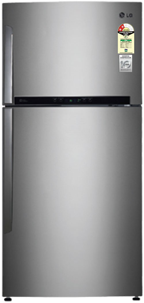 Best price on LG GR-M772HLHM 606 Litres Double Door Refrigerator in India
