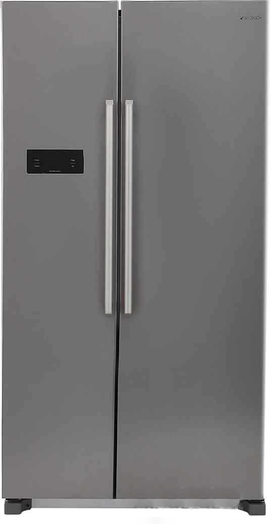 Best price on Panasonic NR-BM601MS1N 600 Litres Side by Side Refrigerator in India