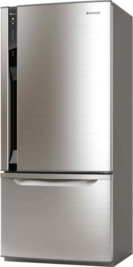 Best price on Panasonic NR-BW465VN 450 Litres Double Door Refrigerator in India