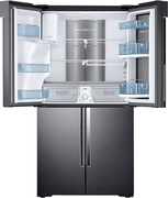 Best price on Samsung RF28K9380SG/TL 826 L Side By Side doubledoor Refrigerator - Top in India