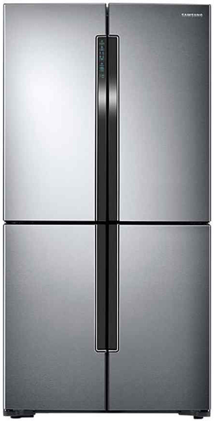 Best price on Samsung RF60J9090SL/TL 680 Litres Side By Side Refrigerator  in India