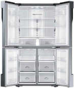 Best price on Samsung RF60J9090SL/TL 680 Litres Side By Side Refrigerator  - Top in India
