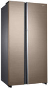 Best price on Samsung RH62K60177P/TL 674 Litres 3S Double Door Refrigerator  - Side in India