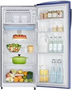 Best price on Samsung RR21J2725VL/TL 212 Litres 5S Single Door Refrigerator (Lilac Violet) - Side in India