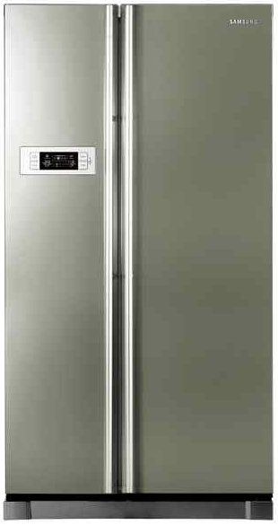 Best price on Samsung RS21HSTPN1 600 Litres Side-by-Side Door Refrigerator  in India