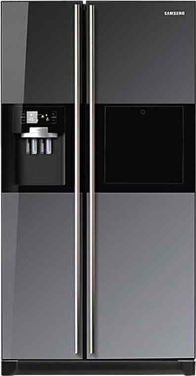 Best price on Samsung RS21HZLMR1 585 Litres Side by Side Door Refrigerator in India