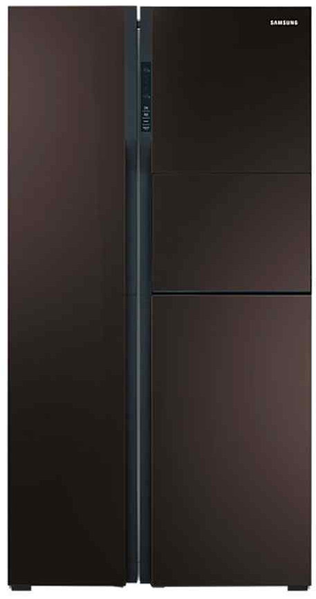 Best price on Samsung RS554NRUA9M 590 Litres Side by Side Door Refrigerator  in India