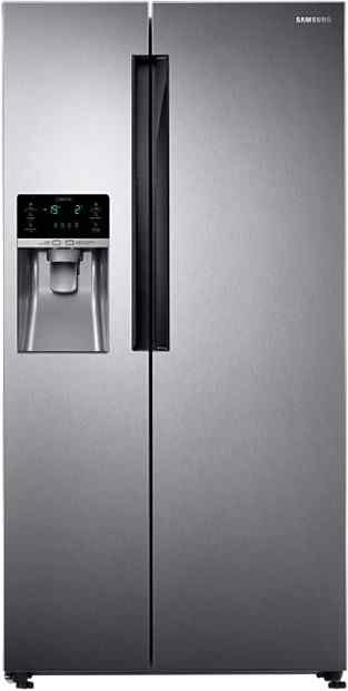 Best price on Samsung RS58K6417SL/TL 654 L Side By Side Refrigerator in India