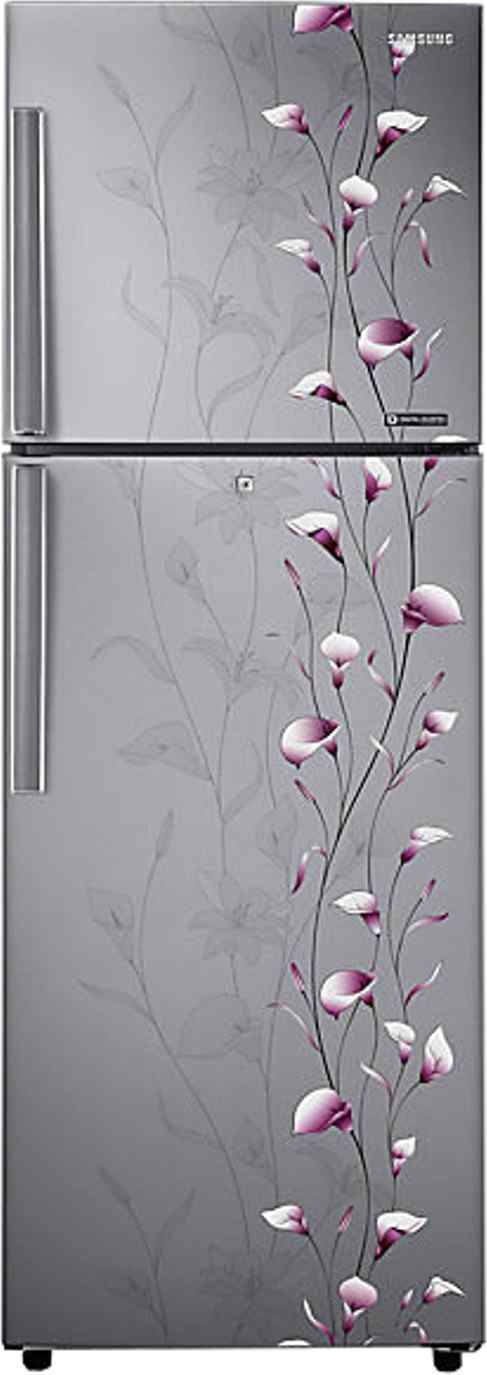 Best price on Samsung RT27JAMSERZ/PZ/SZ 253 Litres Double Door Refrigerator (Tender Lily) in India