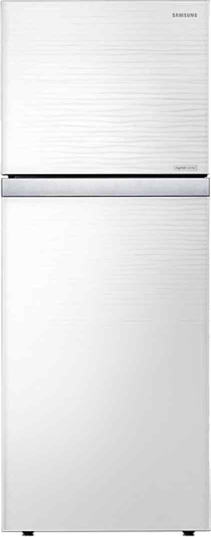 Best price on Samsung RT39HAUDE1J 393 Litres 4S Double Door Refrigerator (Shiny River) in India
