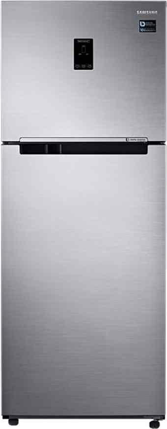 Best price on Samsung RT39K5518S8 394 L Double Door Refrigerator in India