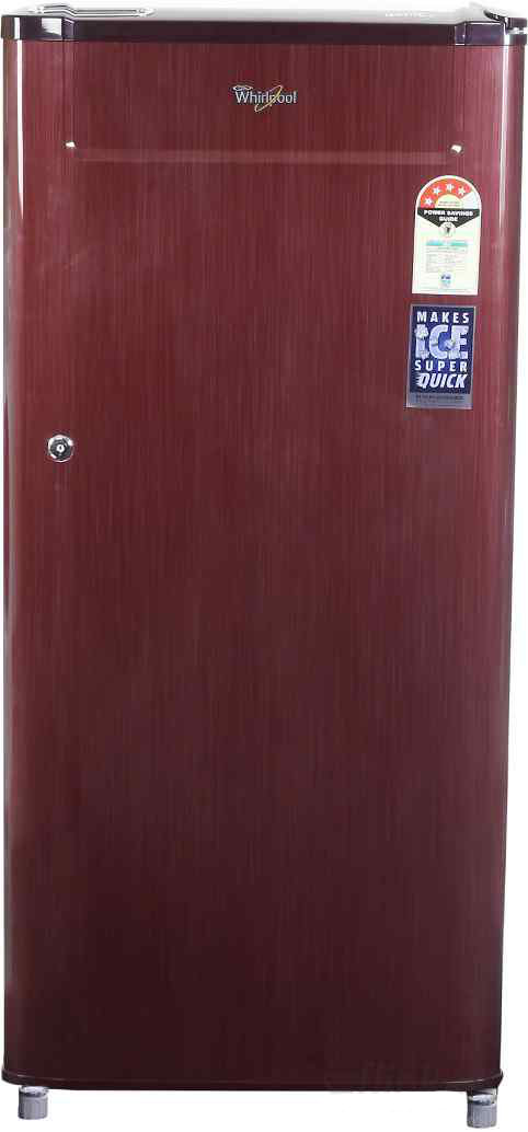 Best price on Whirlpool 205 Genius CLS Plus 4S 190 Litres Single Door Refrigerator (Titanium) in India