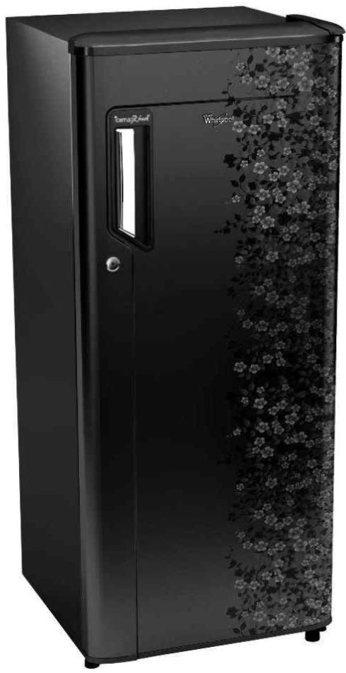 Best price on Whirlpool 205 IM Powercool PRM 5S (Midnight Bloom) 190 Litres Single Door Refrigerator  in India