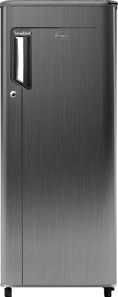 Best price on Whirlpool 215 IMFRESH PRM 5S (Titanium) 200 Litre Single Door Refrigerator in India