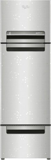 Best price on Whirlpool FP 263D Royal Protton 240 Litres Triple Door Refrigerator (Steel Knight) in India