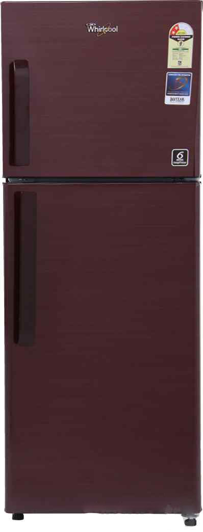 Best price on Whirlpool NEO FR258 CLS PLUS 2S (Titanium) 245 Litres Double Door Refrigerator in India