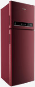 Best price on Whirlpool Neo IF305 ELT 290 L 3S (Alpha Steel) Double Door Refrigerator  - Front in India