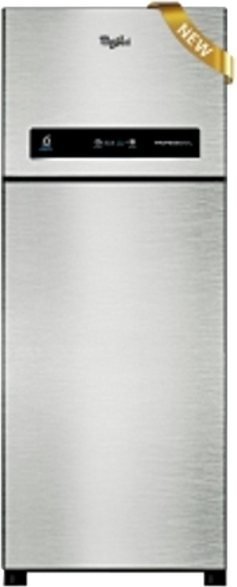 Best price on Whirlpool Pro 495 ELT 3S 480 Litres Double Door Refrigerator (Alpha Steel) in India
