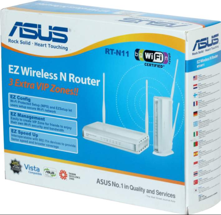 Best price on Asus RT-N11 EZ Wireless 150N Router in India