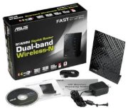 Best price on Asus RT-N56U Dual Band Wireless 600N Gigabit Router - Top in India