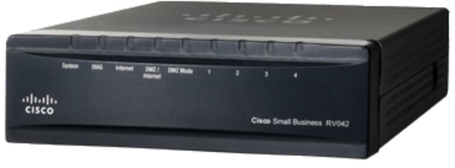 Best price on Cisco Linksys RV042 Dual WAN VPN Router in India