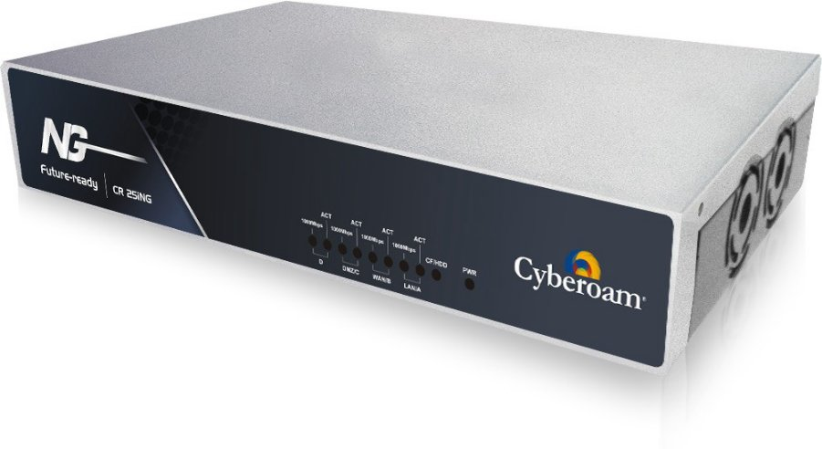 Best price on Cyberoam CR25ing Router  (Black) in India
