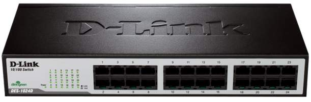 Best price on D-Link DES-1024D 200 Mbps Ethernet Router in India