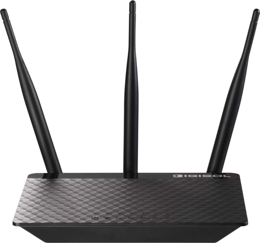 Best price on Digisol DG-HR3300TA 300Mbps Wireless Broadband Home Router in India