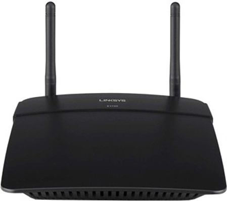 Best price on Linksys E1700 N300 Wireless Router in India