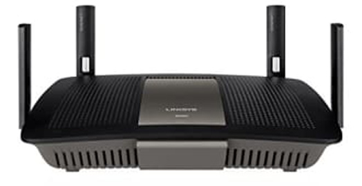 Best price on Linksys E8350 AC2400 Dual Band Gigabit Wi-Fi Router in India