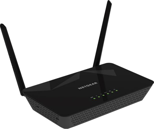 Best price on Netgear D1500 N300 WiFi Modem Router in India