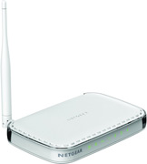Best price on Netgear N150 Wireless Router (JNR1010) - Side in India