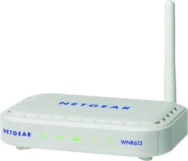 Best price on Netgear WNR612 Wireless-N 150 Router in India