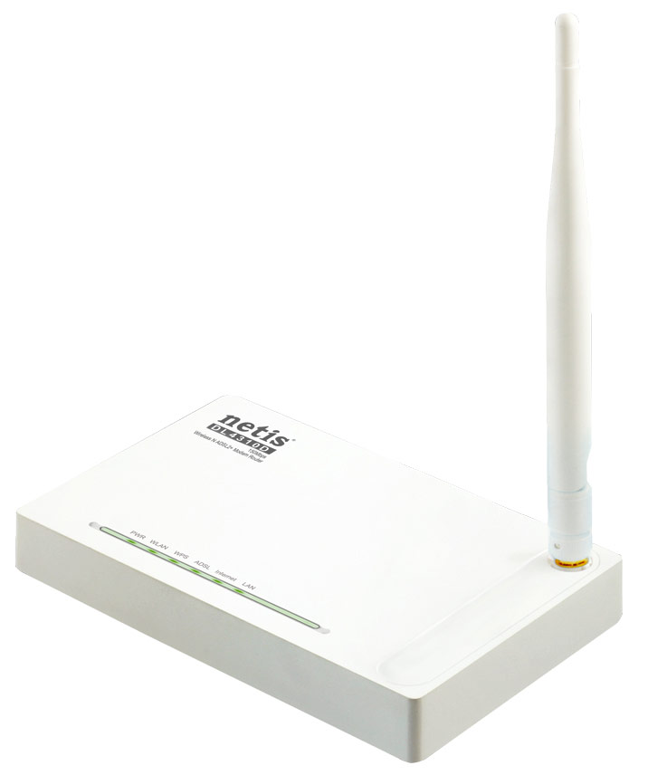 Best price on Netis DL4310 150Mbps Wireless N ADSL2 MODEM Router in India