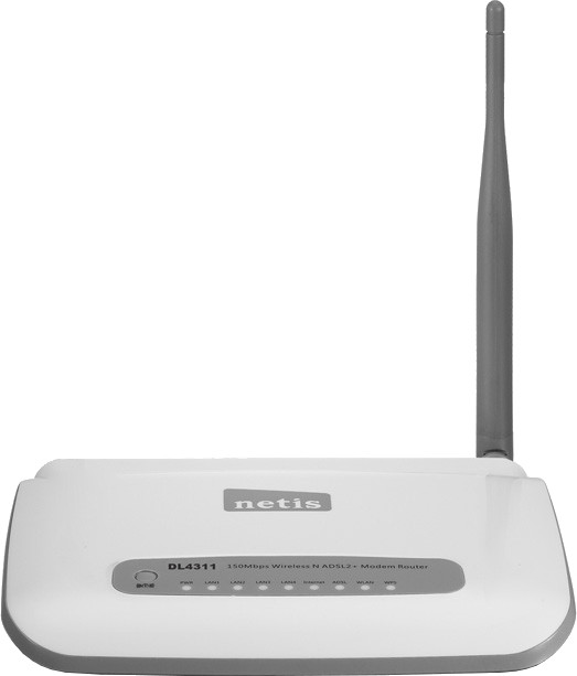Best price on Netis DL4311 N150 Wireless Modem Router in India