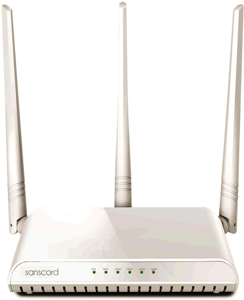 Best price on SansCord RNH-326 300 Mbps Wireless Router in India