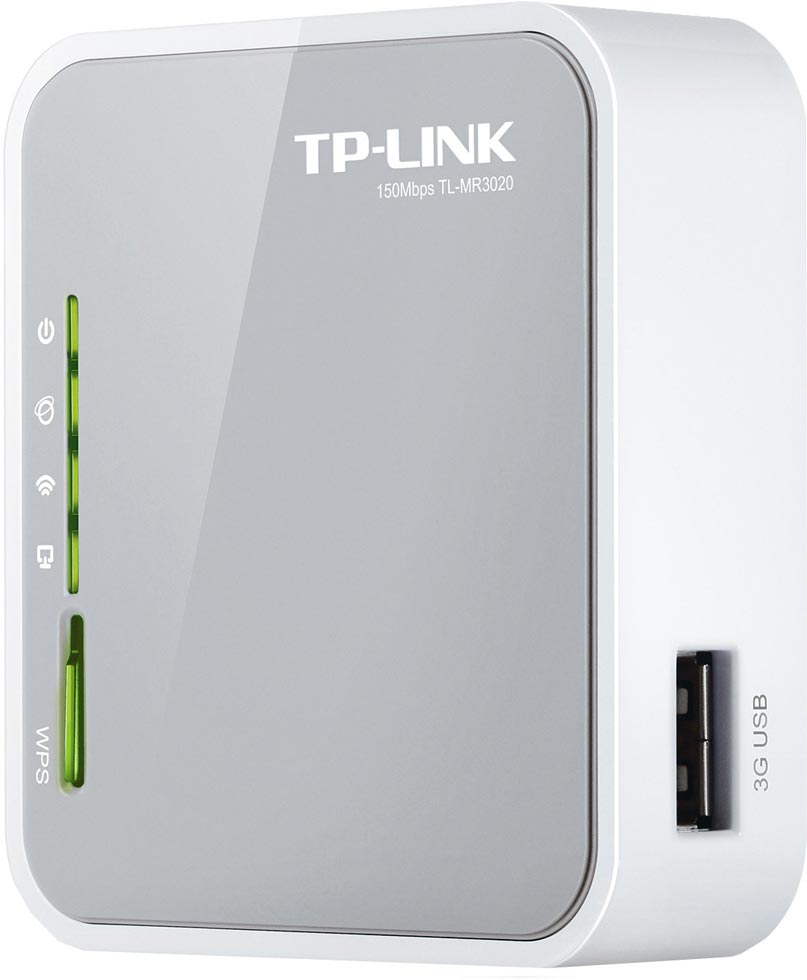 Best price on TP-LINK TL-MR3020 Portable 3G/3.75G/4G Wireless N Router in India