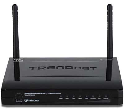 Best price on TRENDnet TEW-635BRM Wireless N ADSL Modem Router in India