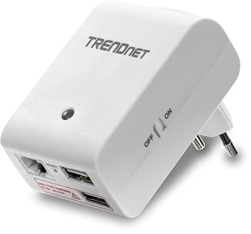 Best price on TRENDnet TEW-714TRU N150 Wireless Travel Router in India